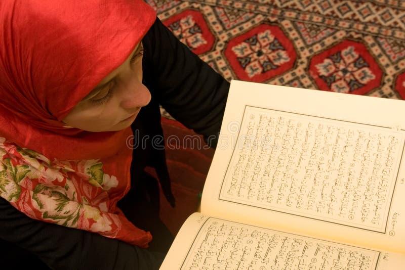 Mulher islâmica imagens de stock