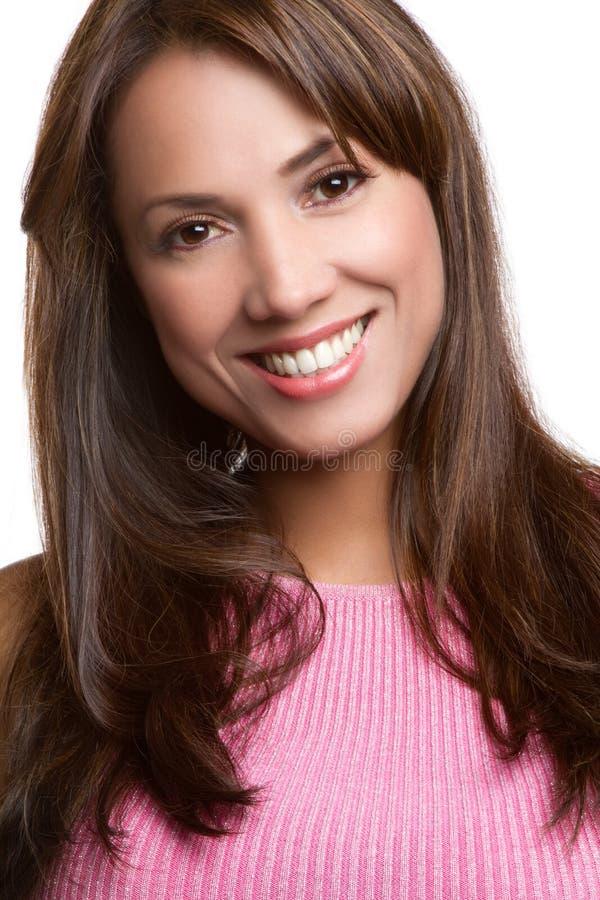 Mulher Latin de sorriso fotos de stock
