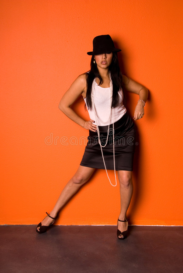 Mulher latino-americano bonita. fotos de stock