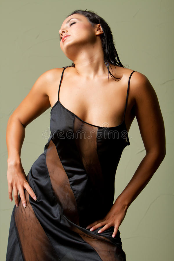 Mulher latino-americano 'sexy' foto de stock royalty free