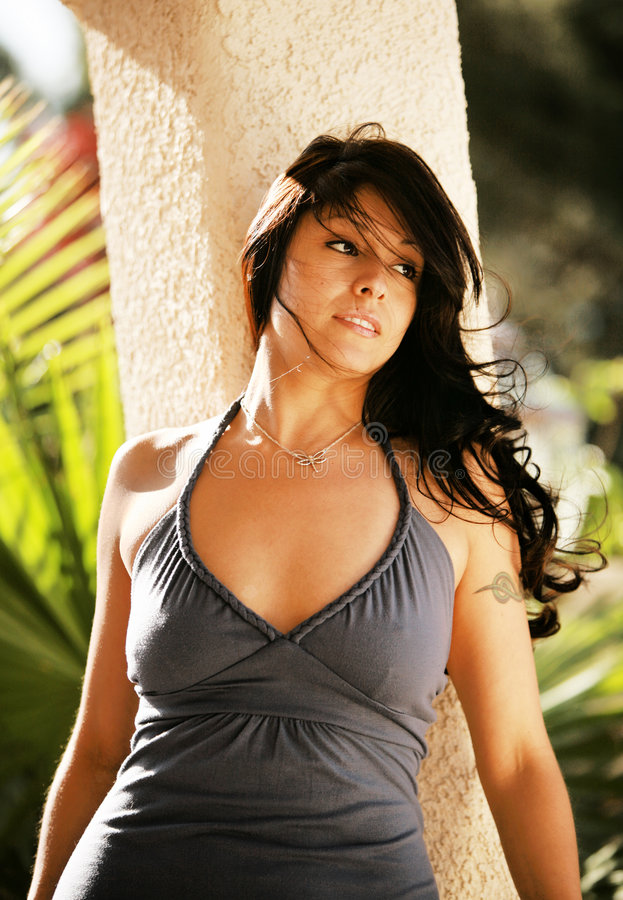 Mulher latino-americano 'sexy' foto de stock