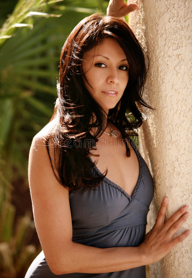 Mulher latino-americano 'sexy' fotografia de stock