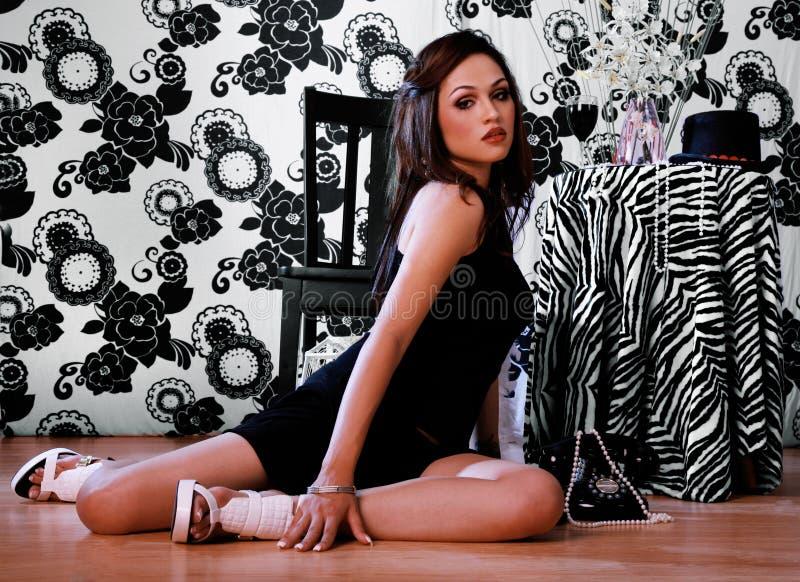 Mulher latino-americano 'sexy' imagens de stock royalty free