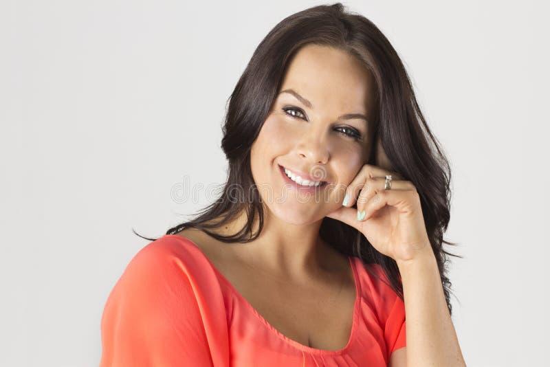 Mulher latino madura bonita imagem de stock