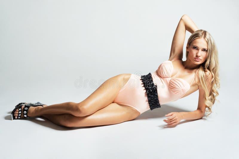 Mulher lindo fotografia de stock royalty free
