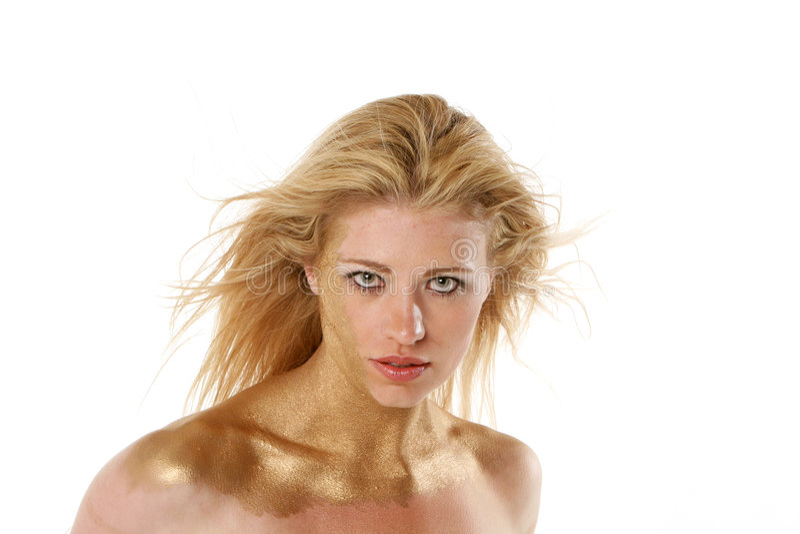 Mulher loura 'sexy' imagem de stock