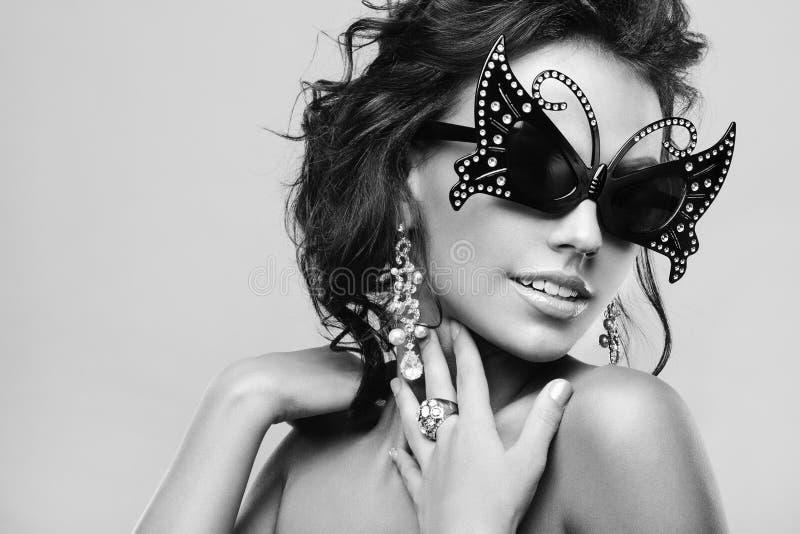 Mulher luxuosa fotos de stock royalty free