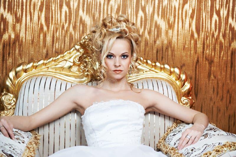 Mulher luxuoso imagem de stock royalty free