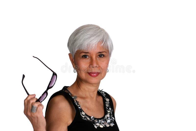 Mulher madura atrativa fotos de stock royalty free