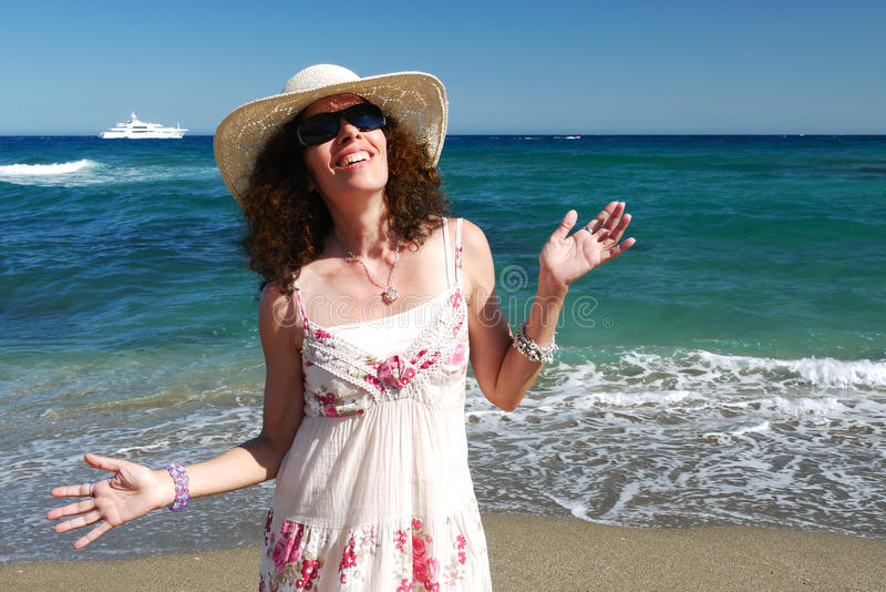 Mulher madura feliz foto de stock royalty free
