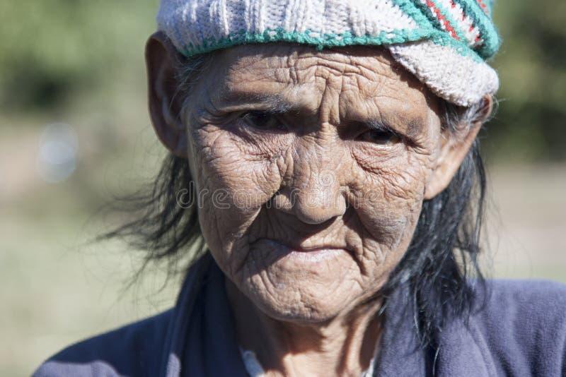 Mulher mais idosa imagens de stock