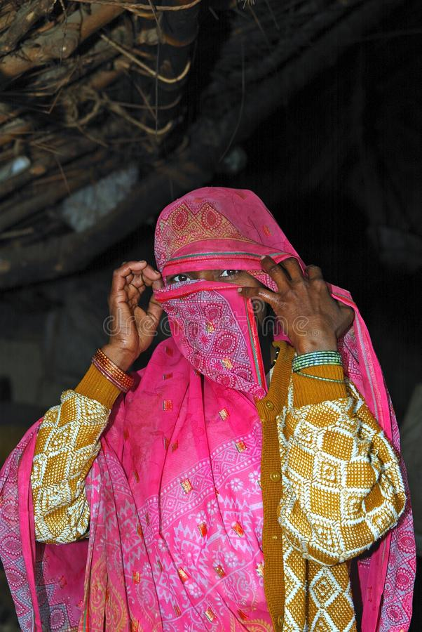 Mulher muçulmana imagens de stock
