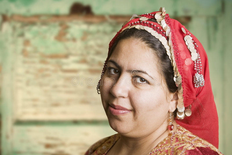 Mulher muçulmana imagens de stock royalty free