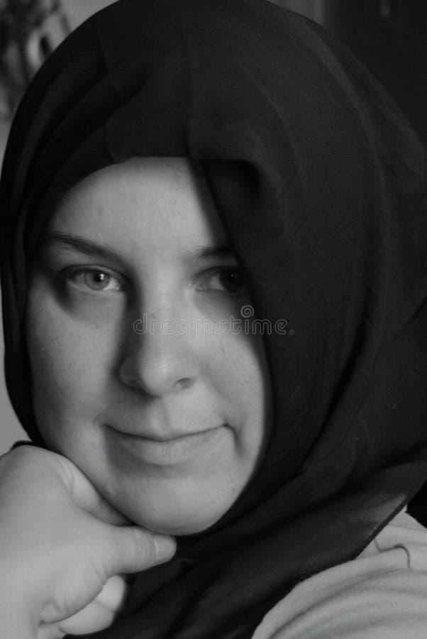 Mulher muçulmana fotografia de stock royalty free