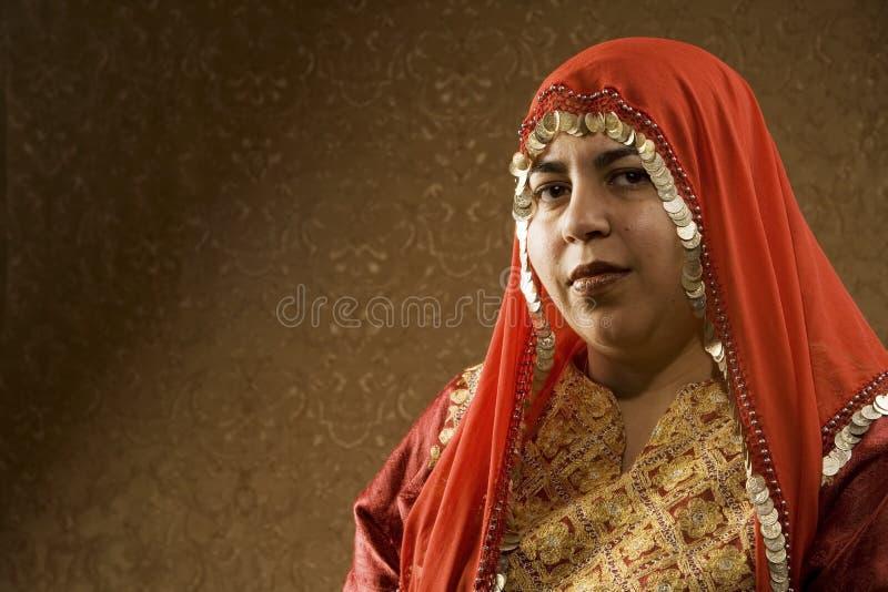 Mulher muçulmana fotografia de stock