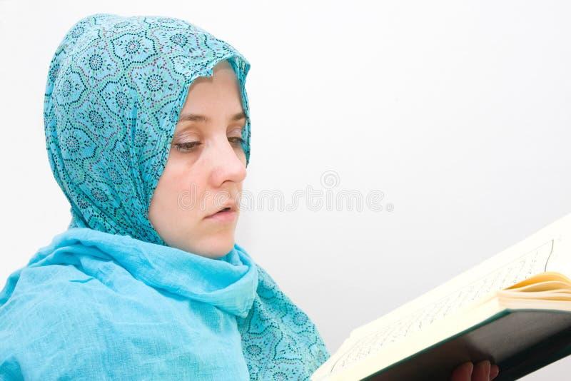 Mulher muçulmana islâmica fotos de stock