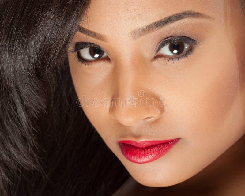 Mulher multiracial lindo foto de stock royalty free