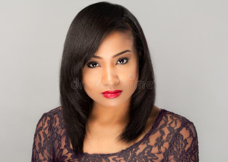 Mulher multiracial lindo imagem de stock royalty free