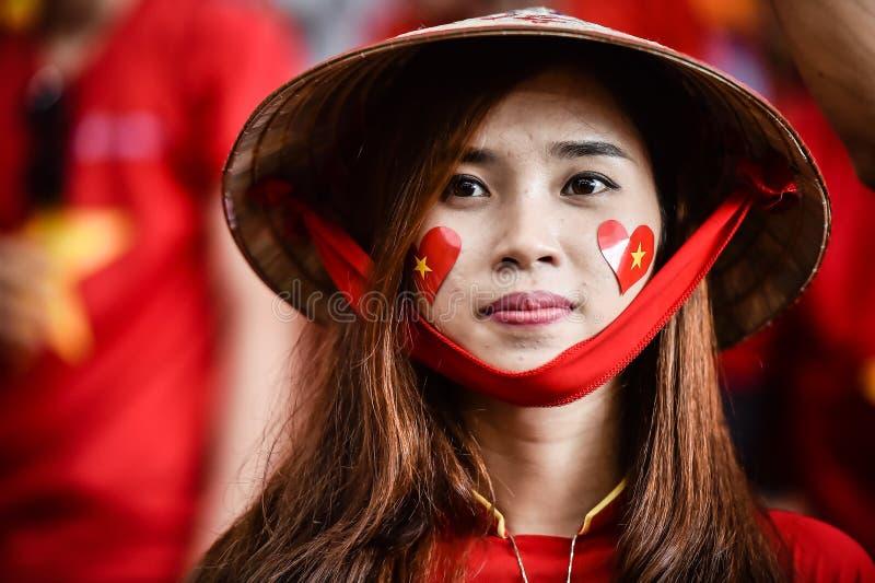Mulher não identificada de Vietname fotografia de stock
