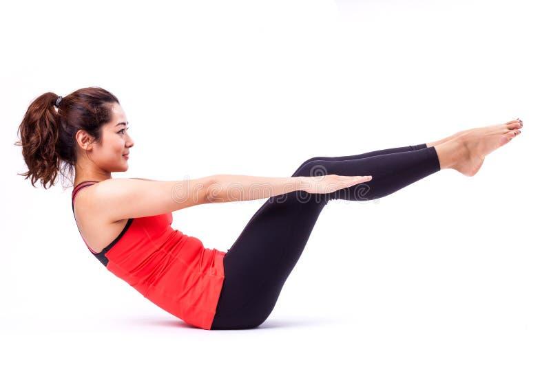 Ação de Pilates imagens de stock royalty free