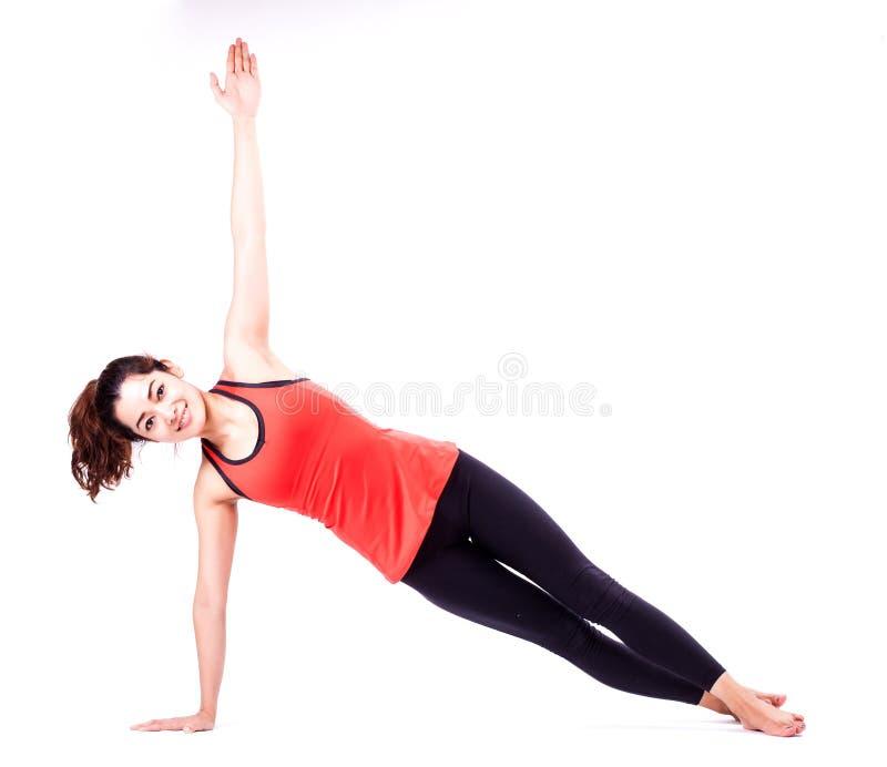Ação de Pilates foto de stock