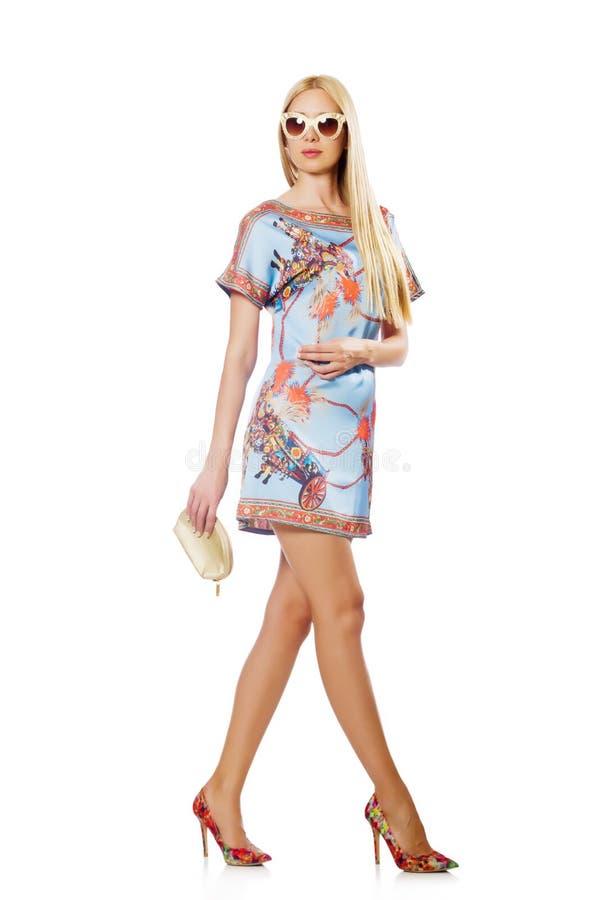 Mulher na forma imagens de stock royalty free