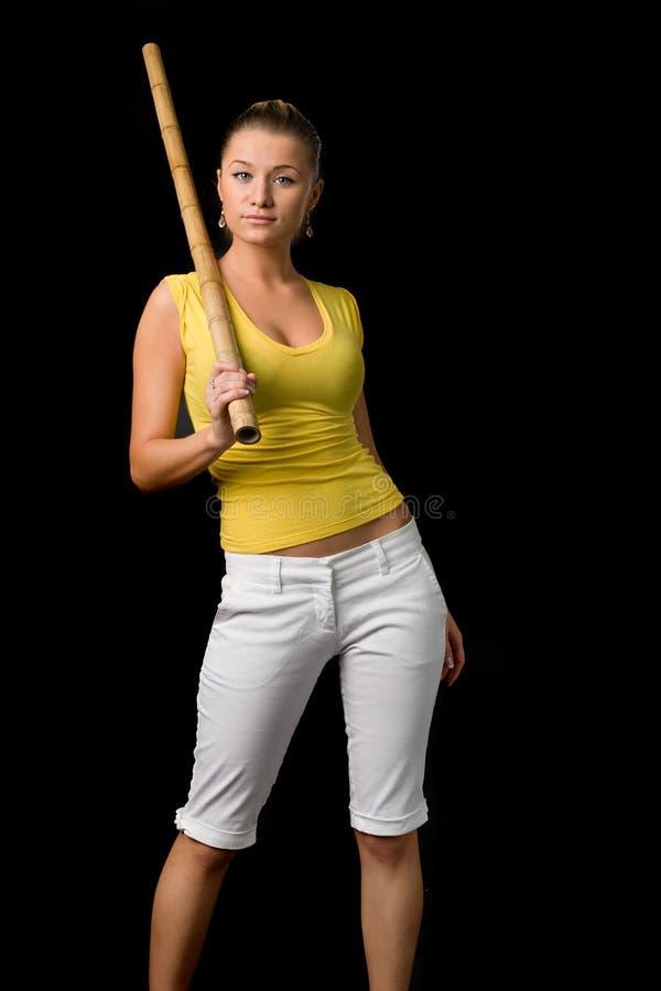 Mulher na moda foto de stock