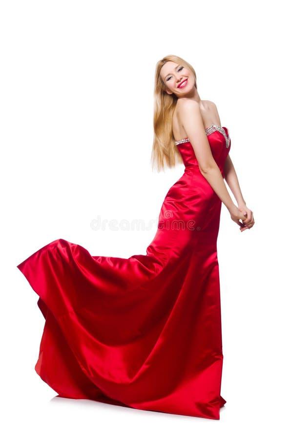 Mulher na roupa de forma fotografia de stock