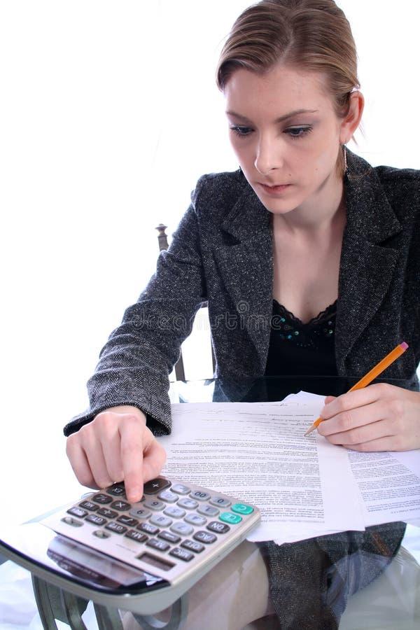 Mulher - negócio, professor, advogado, estudante, etc. foto de stock royalty free