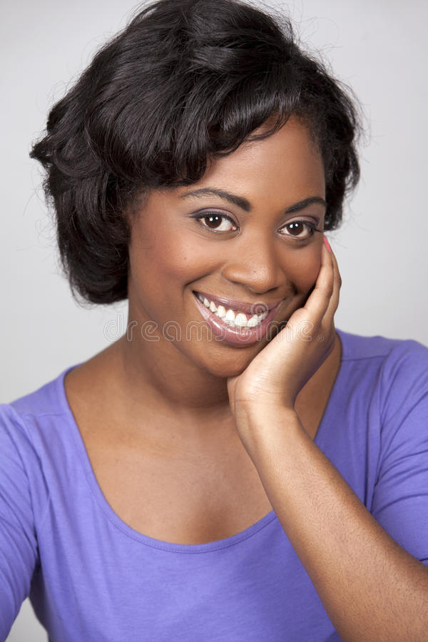 Mulher negra imagens de stock royalty free