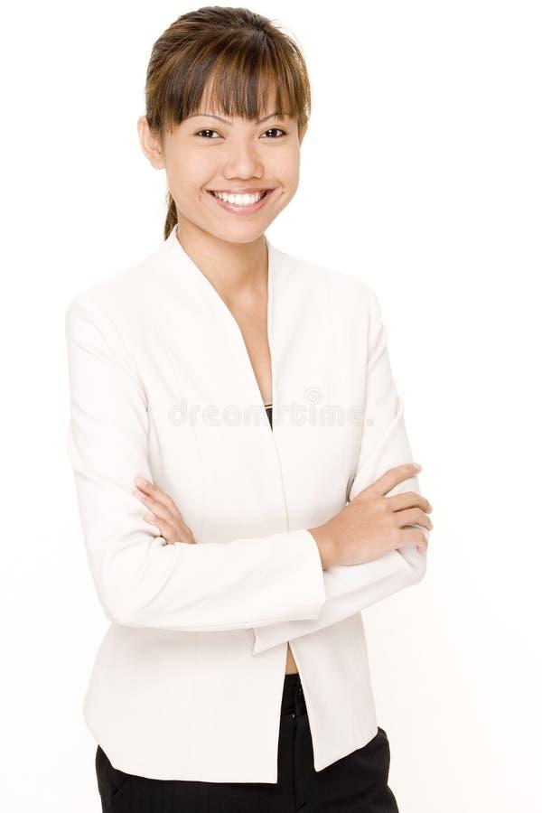 Mulher no branco 5 fotos de stock