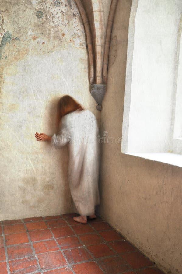 Mulher no desespero imagem de stock