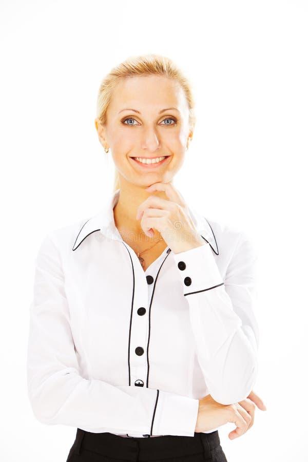 Mulher no negócio fotografia de stock royalty free