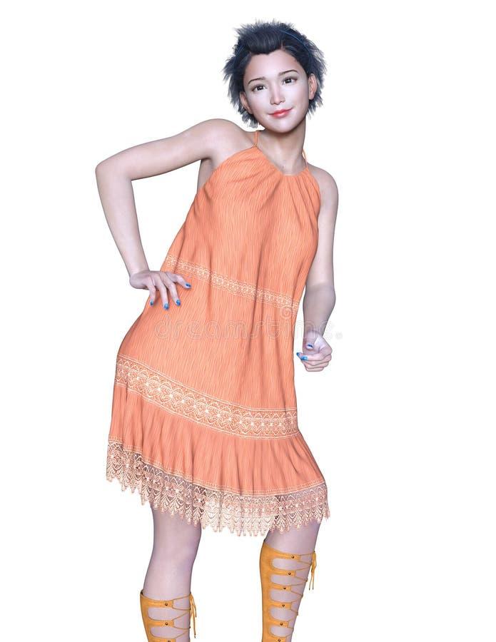Mulher nova 15 fotografia de stock