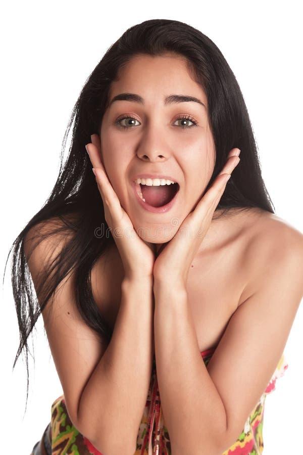 Download Mulher nova imagem de stock. Imagem de modelo, caucasiano - 26500909