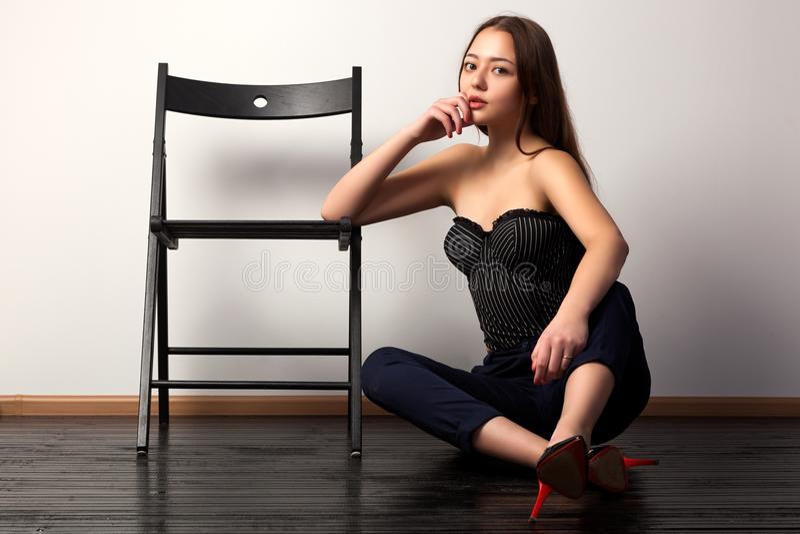 Mulher nova asiática fotos de stock