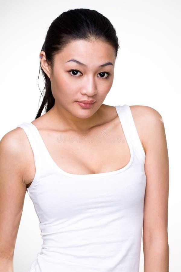 Mulher nova asiática atrativa fotos de stock