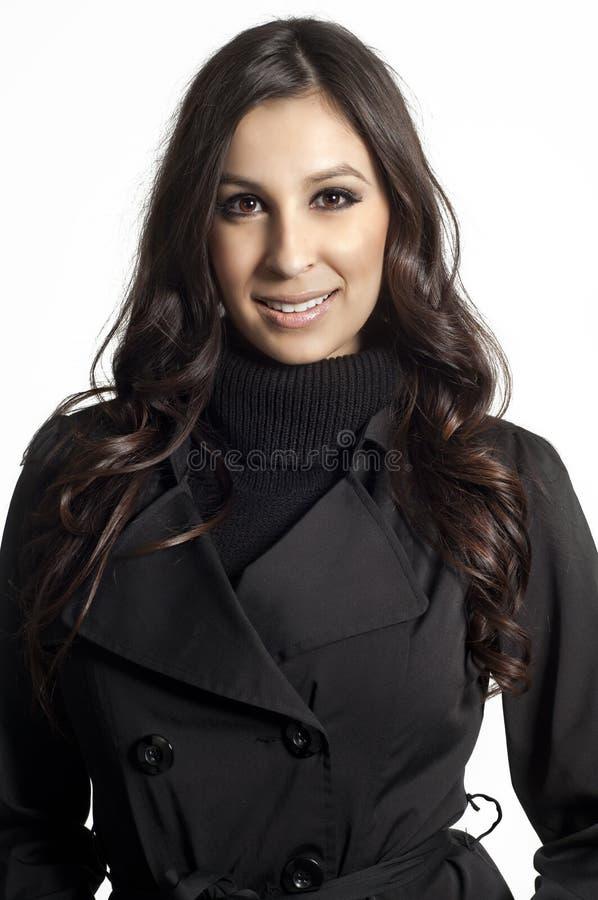Mulher nova bem sucedida imagem de stock royalty free
