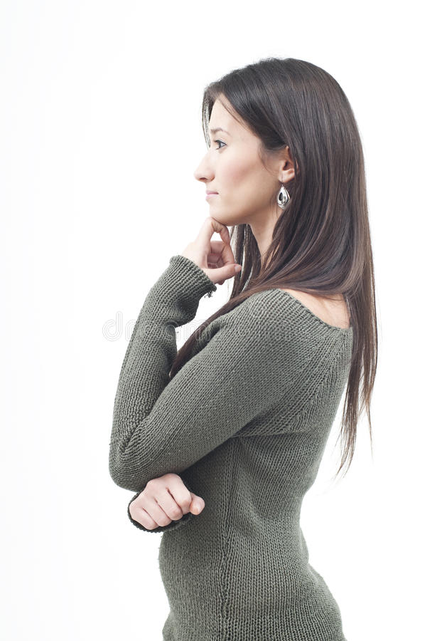 Mulher nova bonita imagens de stock