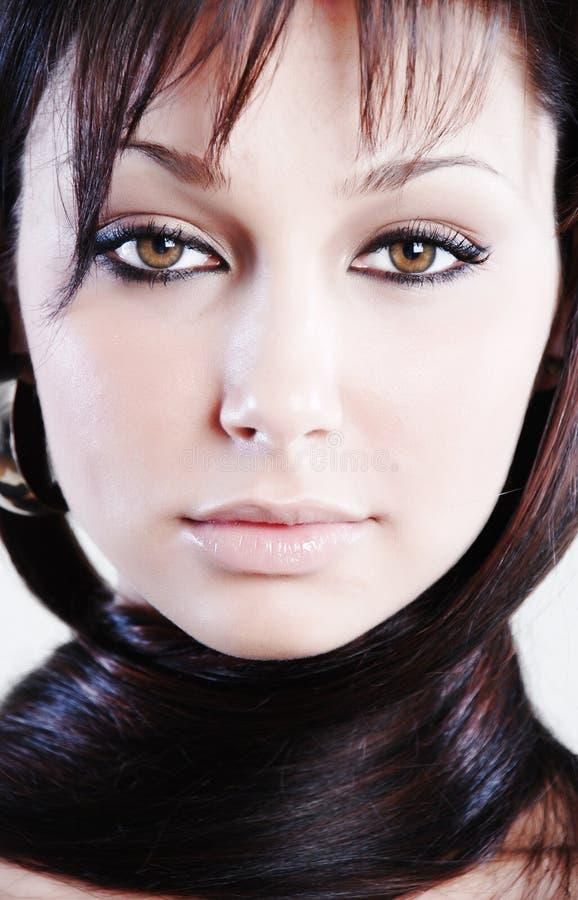 Mulher nova da beleza imagem de stock