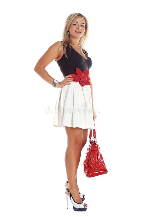 Mulher nova da forma fotos de stock royalty free