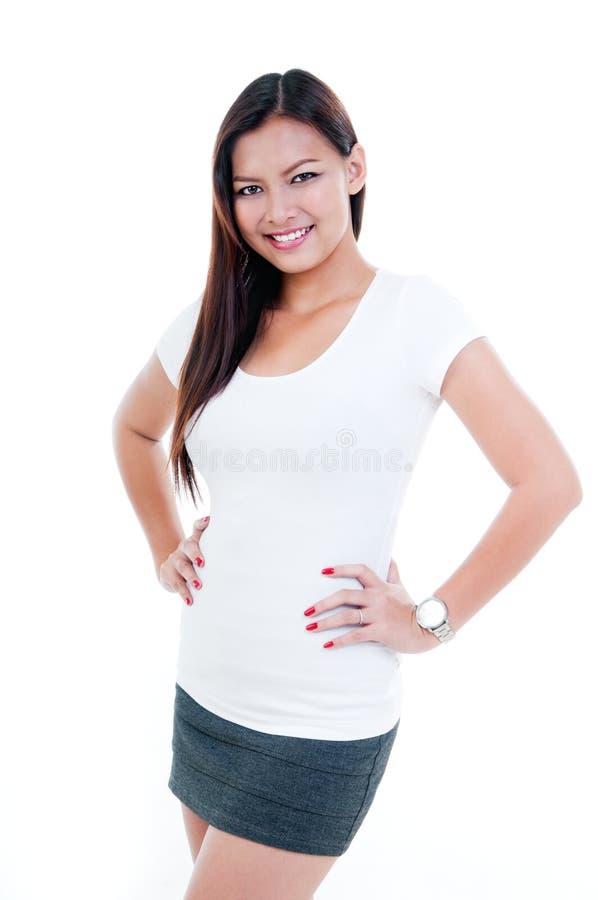 Mulher nova de Atractive fotos de stock