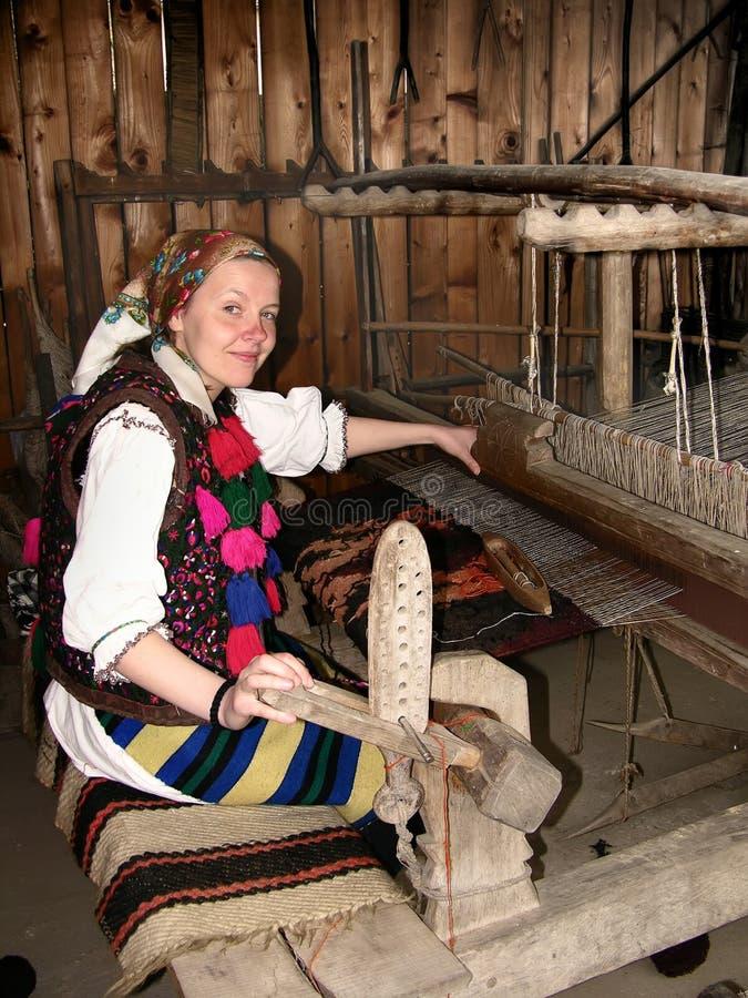 Mulher nova de Romania fotos de stock