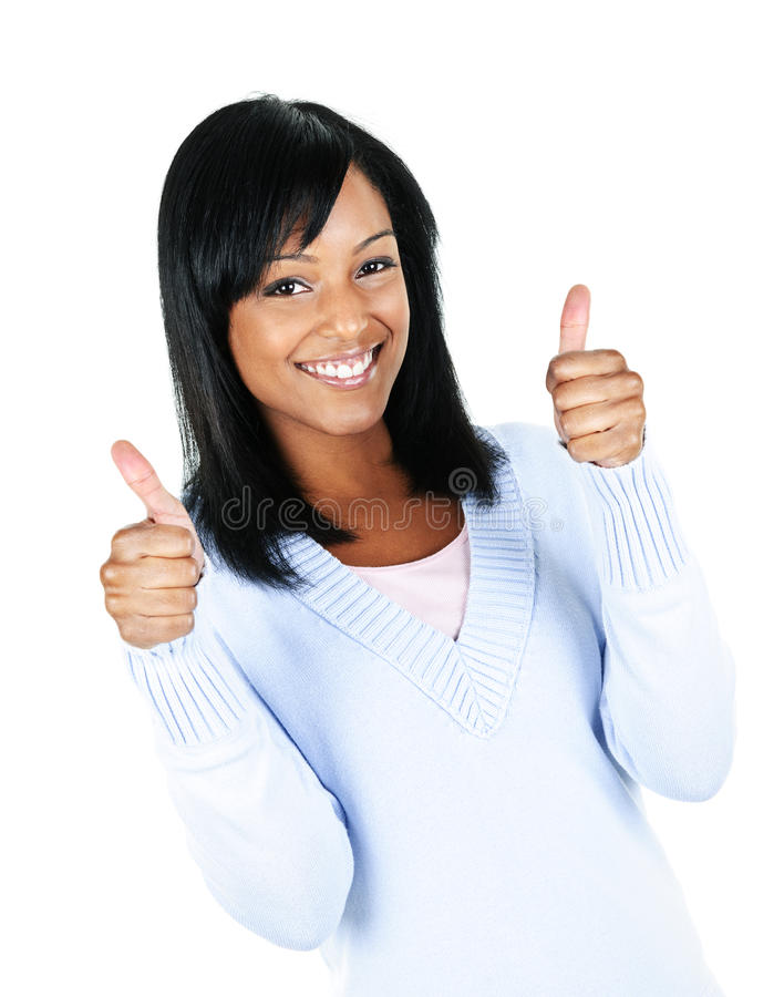 Mulher nova de sorriso fotografia de stock royalty free