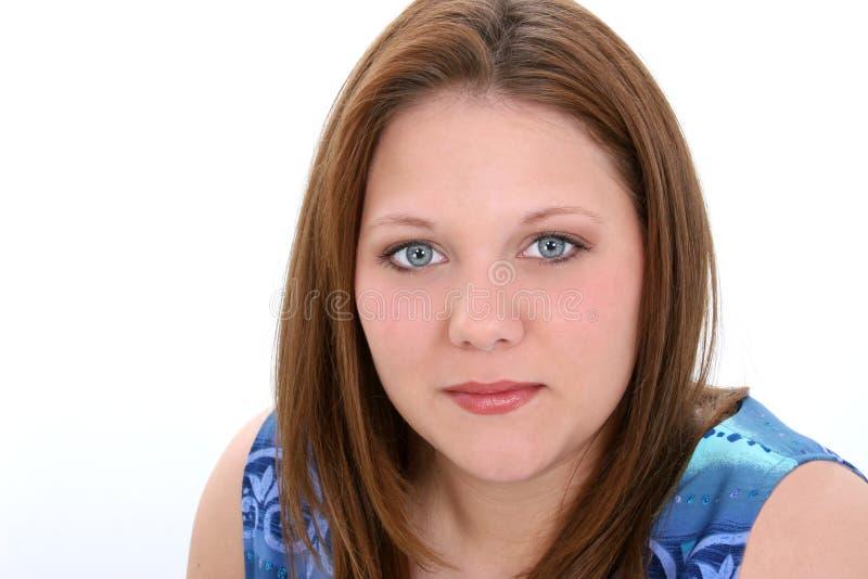 Mulher nova dos anos de idade vinte bonitos foto de stock