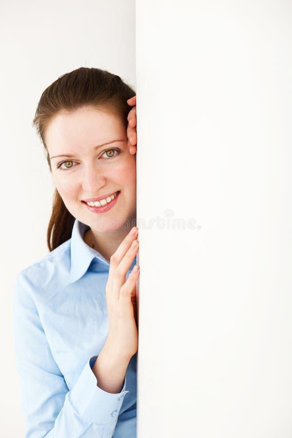 Mulher nova feliz fotos de stock