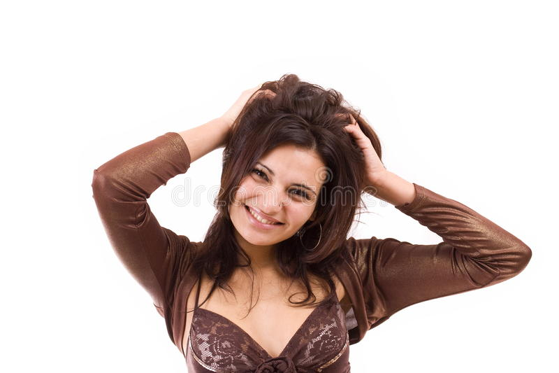 Download Mulher nova na moda imagem de stock. Imagem de lifestyle - 16850861