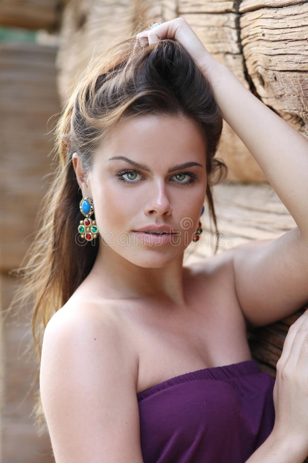 Mulher nova sexual fotos de stock royalty free