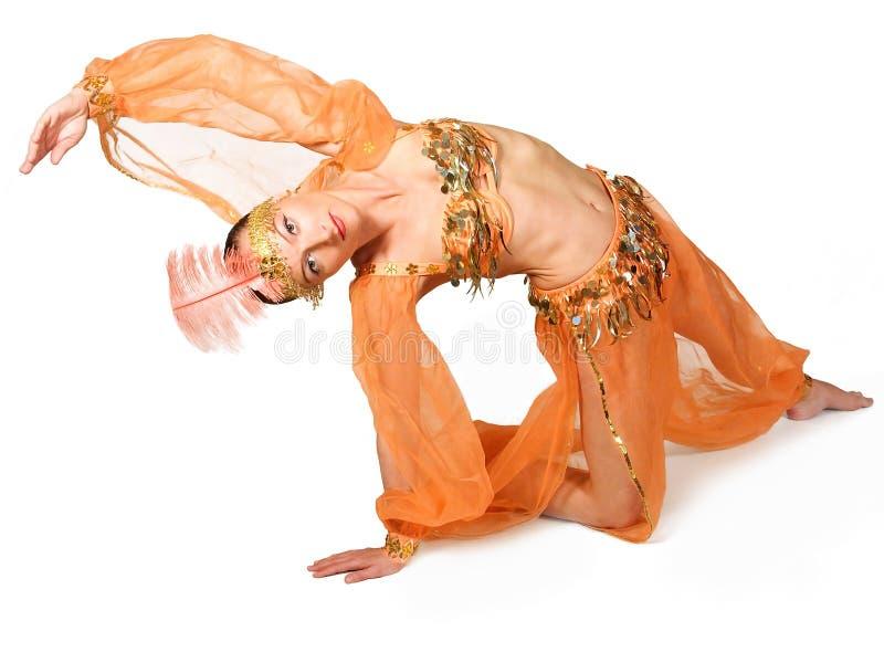 Mulher oriental foto de stock royalty free