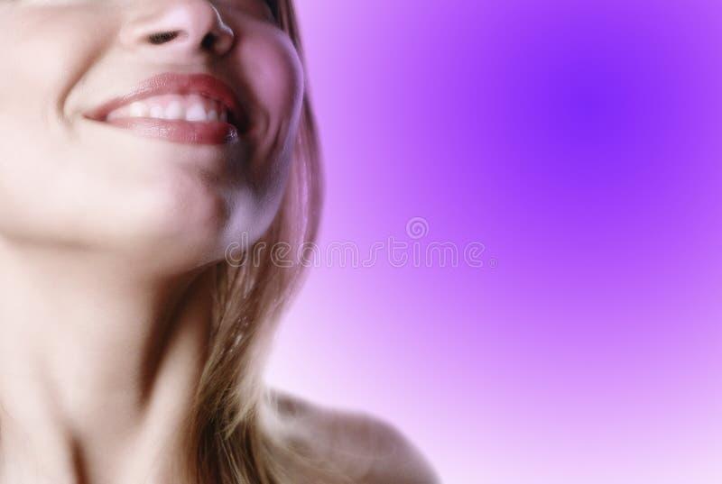 Mulher parcial face-11 imagem de stock